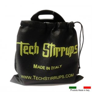 COPRISTAFFE TECH STIRRUPS NERO